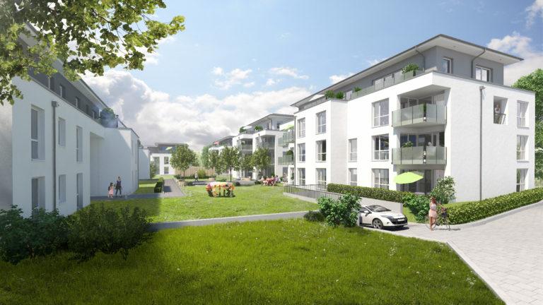 Wohnen und leben in Kreuztals grüner Mitte – Der zweite Bauabschnitt folgt.