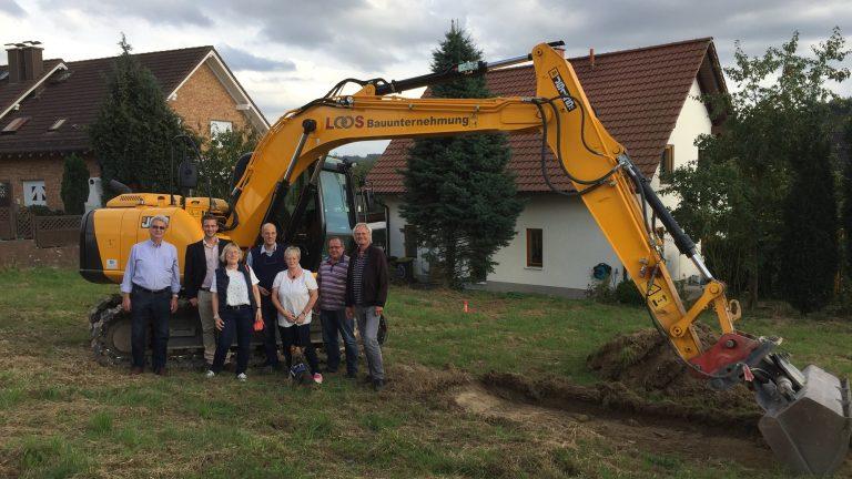 Schön leben und wohnen am Historischen Hauberg – Spatenstich in Kreuztal. Ein weiteres innovatives Projekt!