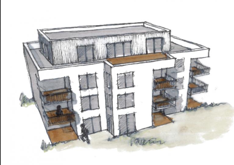 Wohnen am Heugraben – Projekt wird der Stadt vorgestellt.