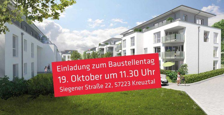 Einladung zum Baustellentag am 19. Oktober 2017 am Heugraben