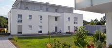 Flick Treuconsult – Wohnen und leben in Kreuztals grüner Mitte-Blick in Innenhof