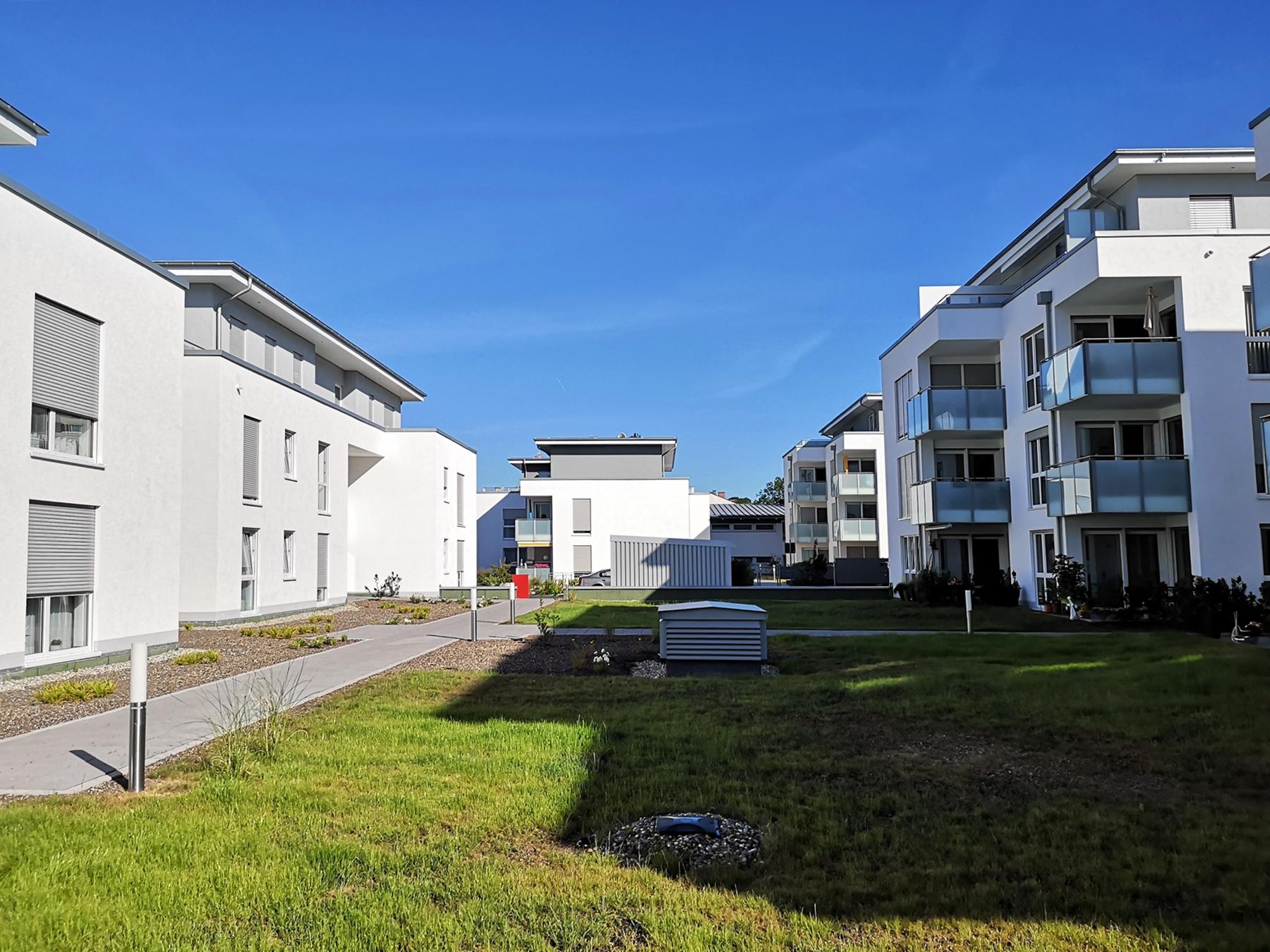 Flick Treuconsult – Wohnen und leben in Kreuztals grüner Mitte-Innenhof